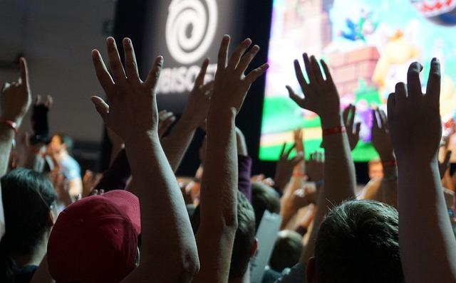 Gamescom, Games, Convention, Cologne, Human, Crowd