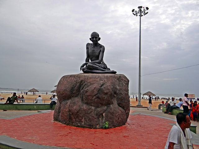 Mahatma, Gandhi, Statue, Sculpture, India, Landmark
