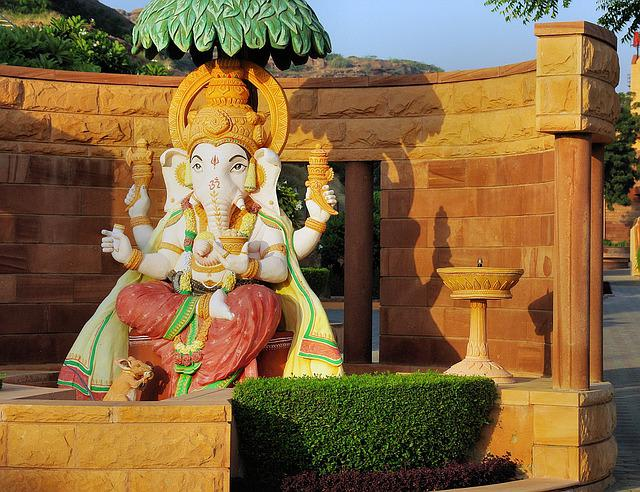 India, Rajastan, Religion, Hinduism, Ganesh, God