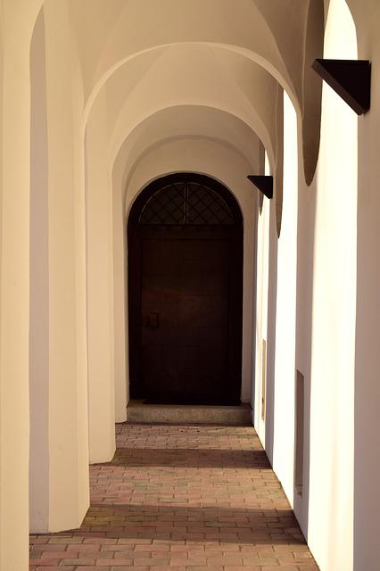 Architecture, Door, Input, Within, Gang, Passage, Light