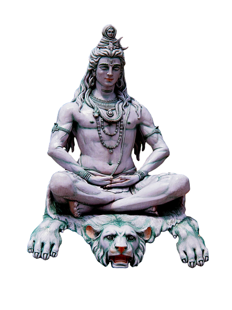 Shiva The Hindu God, Shiva, India, Rishikesh, Ganges