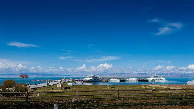Qinghai Lake, Xining, Gansu Province