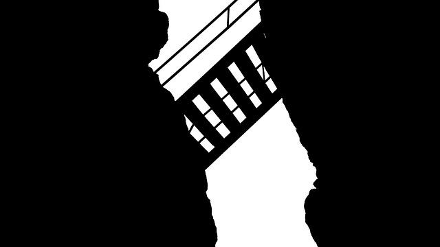 Stairs, Gap, Crack