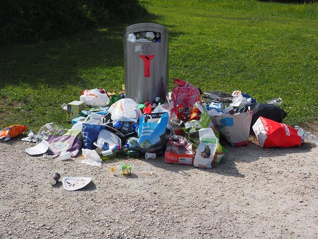 Garbage Can, Garbage, Pollution, Waste, Waste Bins