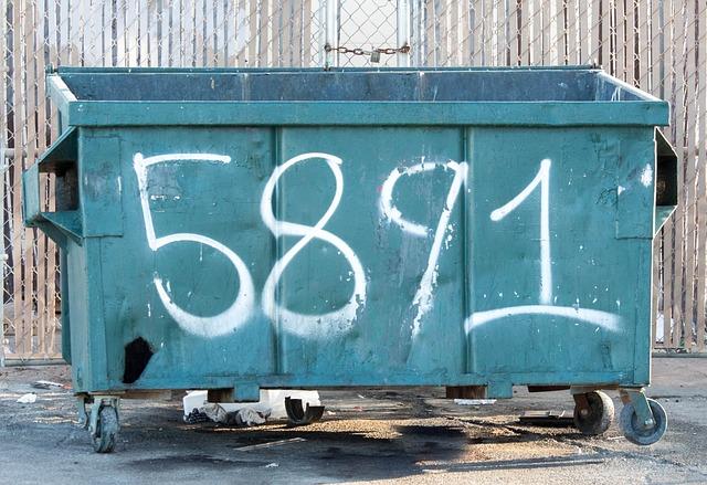 Garbage, Bin, Trash, Container, Waste