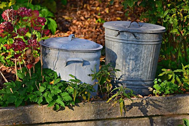 Trash Can, Dustbin, Garbage, Waste, Vintage Trash Can