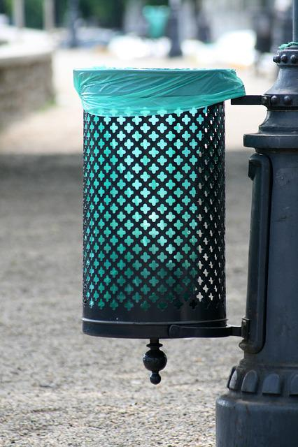 Waste, Garbage, Cleanliness, Clean Streets, Trash Cans