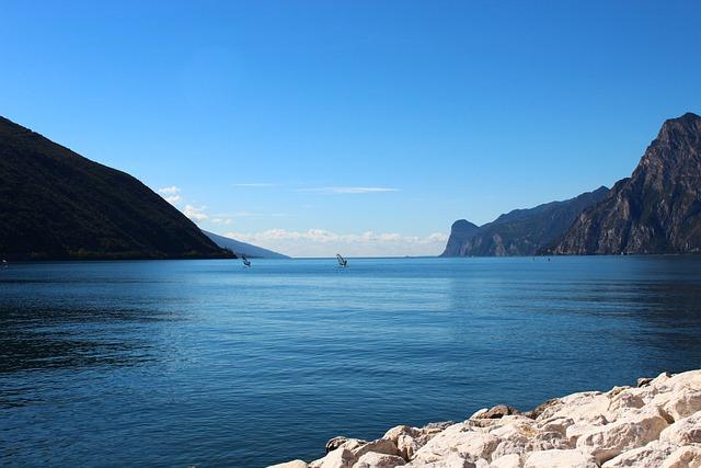 Garda, Windsurfer, Italy, Riva, Vacations, Torbole