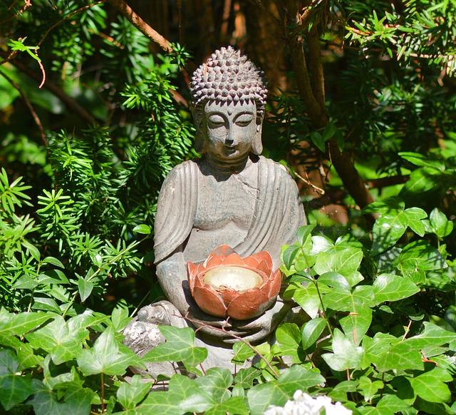 Buddha, Buddha Statue, Statue, Garden Fountain