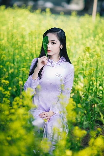 Girl, Flower, Garden, Green, Spring, Outdoors, Friends