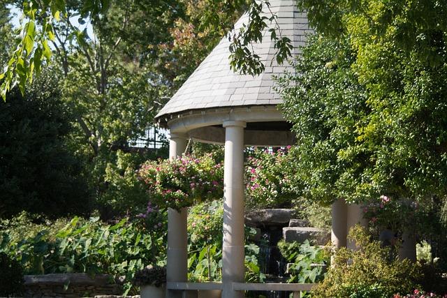 Garden, Gazebo, Landscaping, Nature, Outdoor, Park