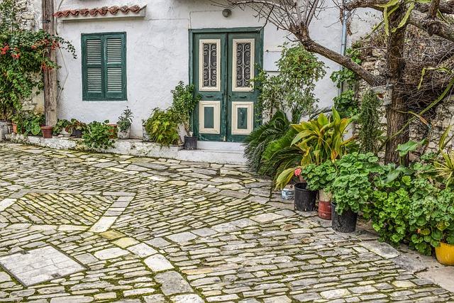 House, Backstreet, Architecture, Garden, Stone, Street