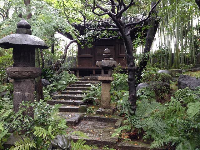 Garden, Japan Garden, Tearoom