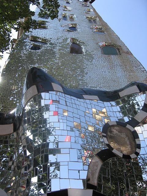 Tower, Mirror, Garden Of Tarot, Niki De Saint Phalle