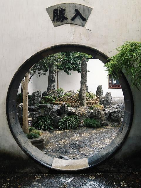 Garden, Suzhou, Jiangnan, China