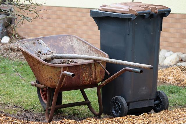 Gardening, Wheelbarrows, Blade, Dustbin, Garden, Tool