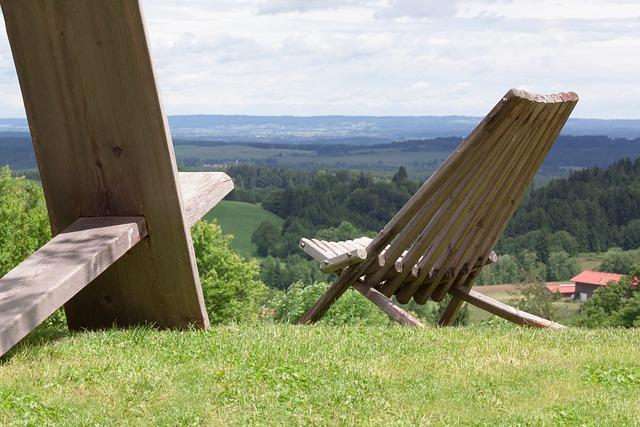 Chair, View, Wood, Design, Object, Furniture, Garden