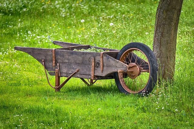Cart, Garden, Tool, Sliding Barrow, Work