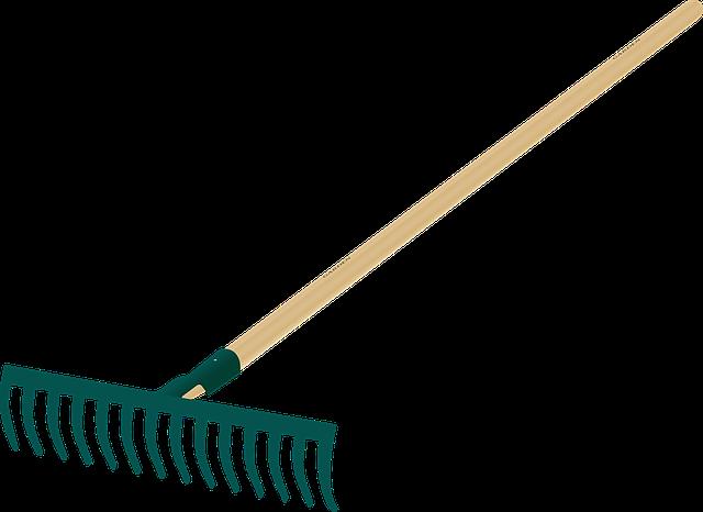 Garden, Gardening, Rake, Tool