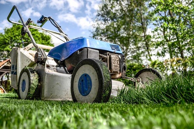 Lawn Mower, Grass, Garden, Front Yard, Gardening