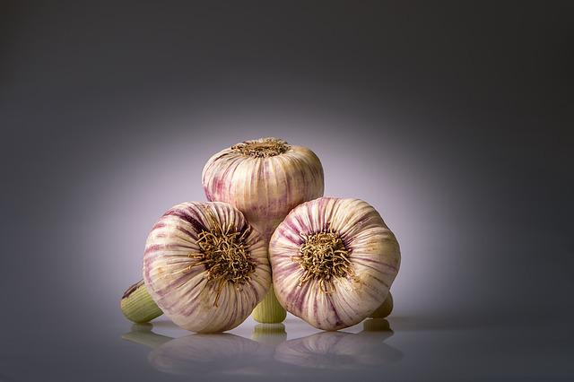 Garlic, Condiment, Heads Of Garlic, Allium Sativum