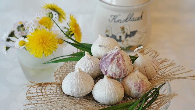 Garlic, Chinese Garlic, Allium Sativum, Kitchen, Cook