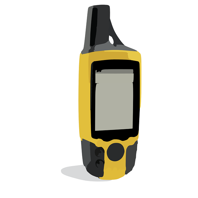 Gps, Navigation, Garmin, Yellow, Device, Longitude