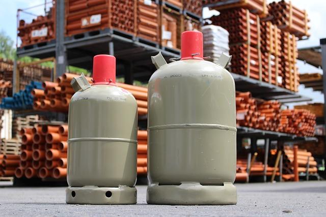 Gas Bottle, Gas, Bottle, Refilling, Burner, Gas Burner