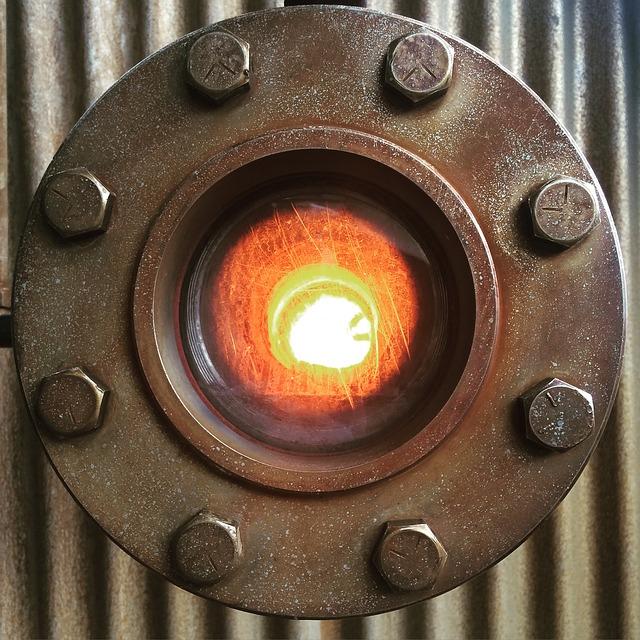 Burner, Flange, Gas, Industry, Technology, Industrial
