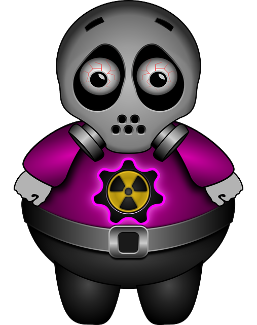 Alien, Sad, Gas Mask, Atomic, Radioactive, Contaminated