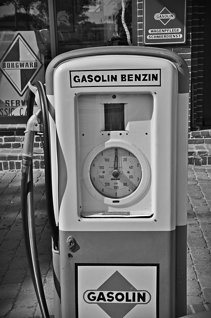 Gas Pump, Petrol Stations, Oldtimer, Petrol, Gas