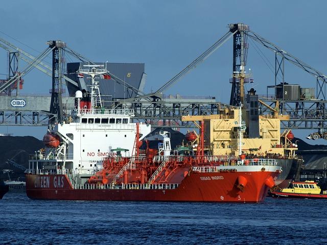 Transporter, Sigas Ingrid, Gas, Frachtschiff, Freighter