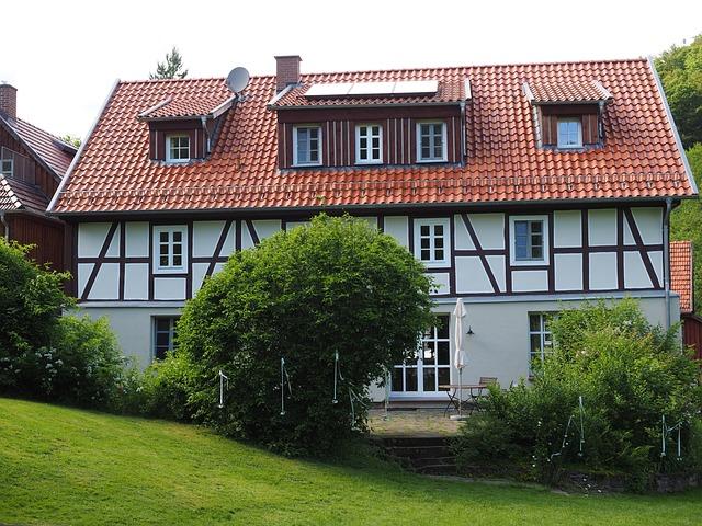 Bear Mill, Fachwerkhaus, Landgasthof, Gasthof