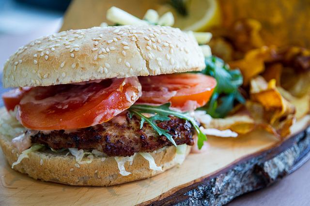 Bread, Food, Snack, Meal, Lunch, Hamburger, Gastronomy