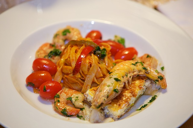 Seafood, Gastronomy, Meals, Kitchen, Tomatoes, Paste