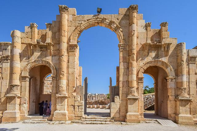 Gate, Entrance, Stone, Architecture, Ancient, History