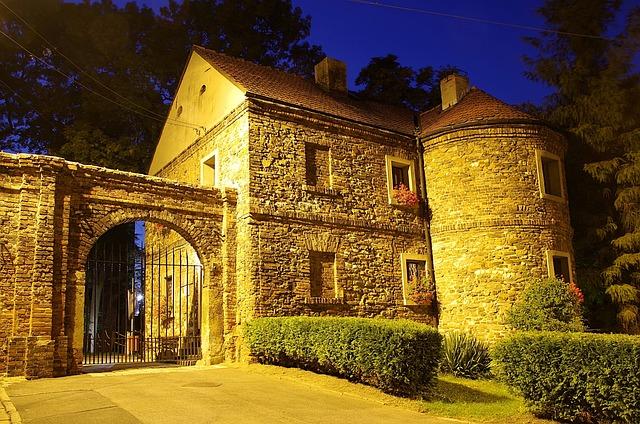 Castle, The Gothic, Gateway, Guardhouse