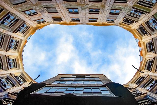 Spain, Barcelona, Building, Gaudi, Architecture