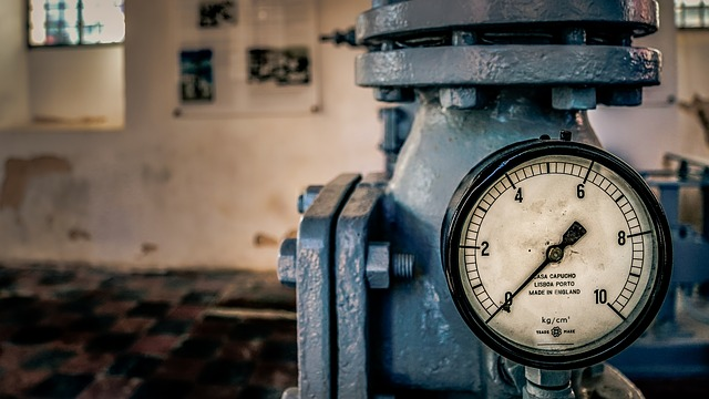 Pressure, Gauge, Old, Industry, Equipment, Vintage