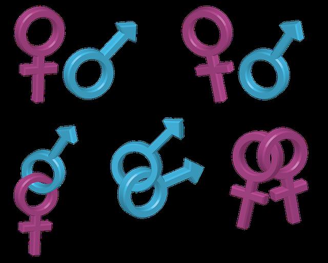 Man, Woman, Logo, Symbol, Relationship, Gay, Lesbian