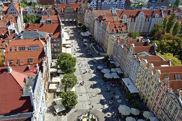 Poland, Gdańsk, Gdansk, Long Market, Długi Targ