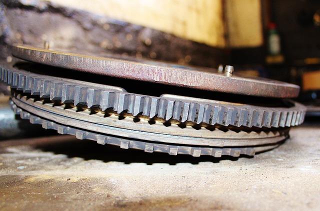 Gear, Workshop, Spare Parts, Metal