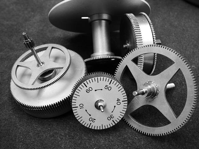 Gears, Mechanical, Bronze