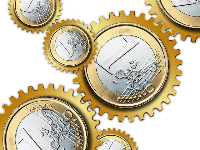 Euro, Money, Currency, Europe, Teeth, Gears, Grinder