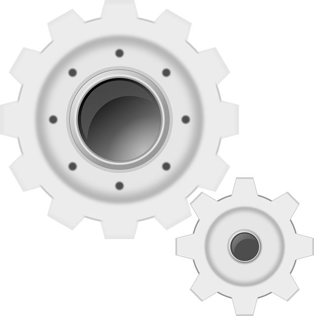 Gears, White, Machine, Cogwheels, Gearwheel, Settings