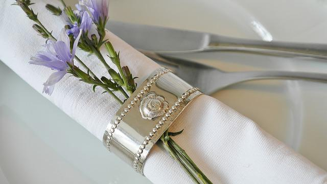 Napkin Ring, Napkin, Cloth Napkins, Gedecker Table
