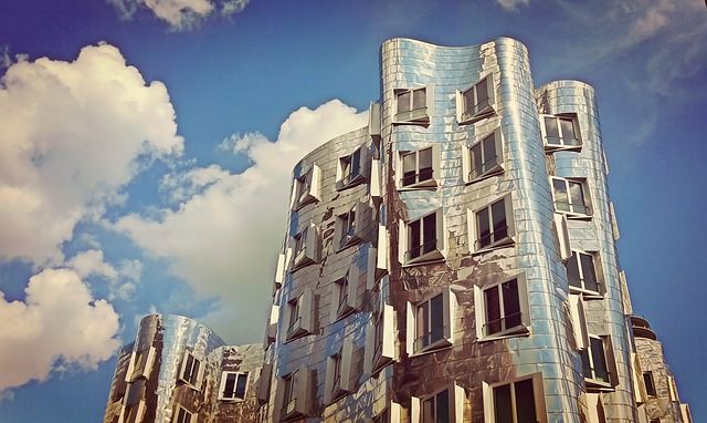 Gehry, Düsseldorf, Architecture, Modern, Media Harbour