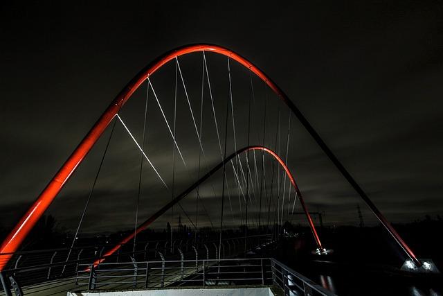 Nordstern Bridge, Gelsenkirchen, Bridge, Nordsternpark