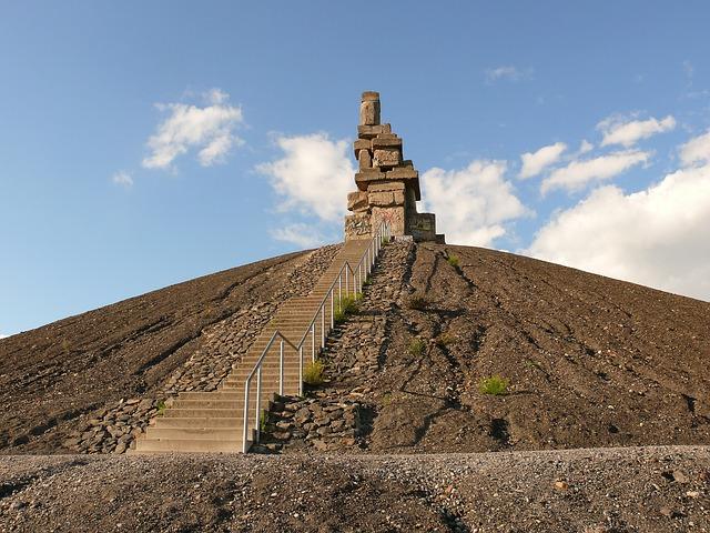 Heaven Stairs, Halde Rheinelbe, Gelsenkirchen