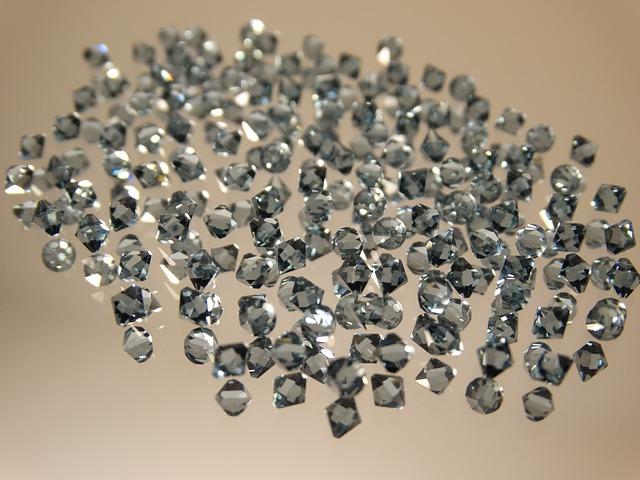 Zirconia, Glass Diamonds, Noble, Gloss, Gem